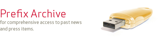 Prefix Archive, for comprehensive access to past news and press items