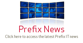 Prefix news - Click here to access the latest Prefix IT news.